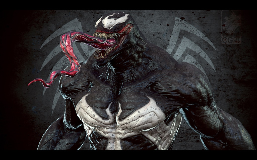 Venom presentation close up 1