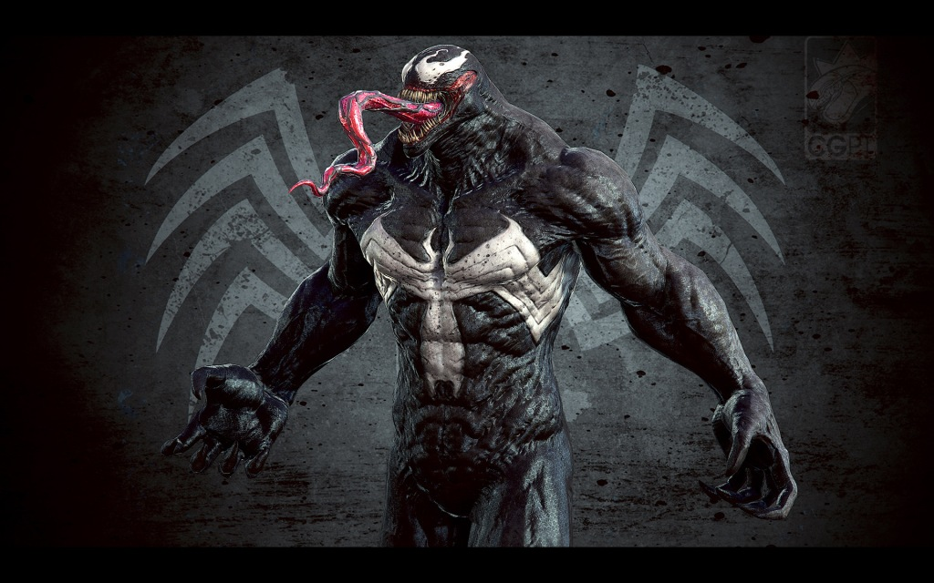 Venom presentation close up 2