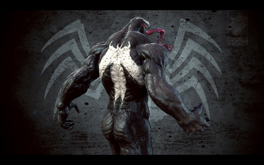 Venom presentation close up 3