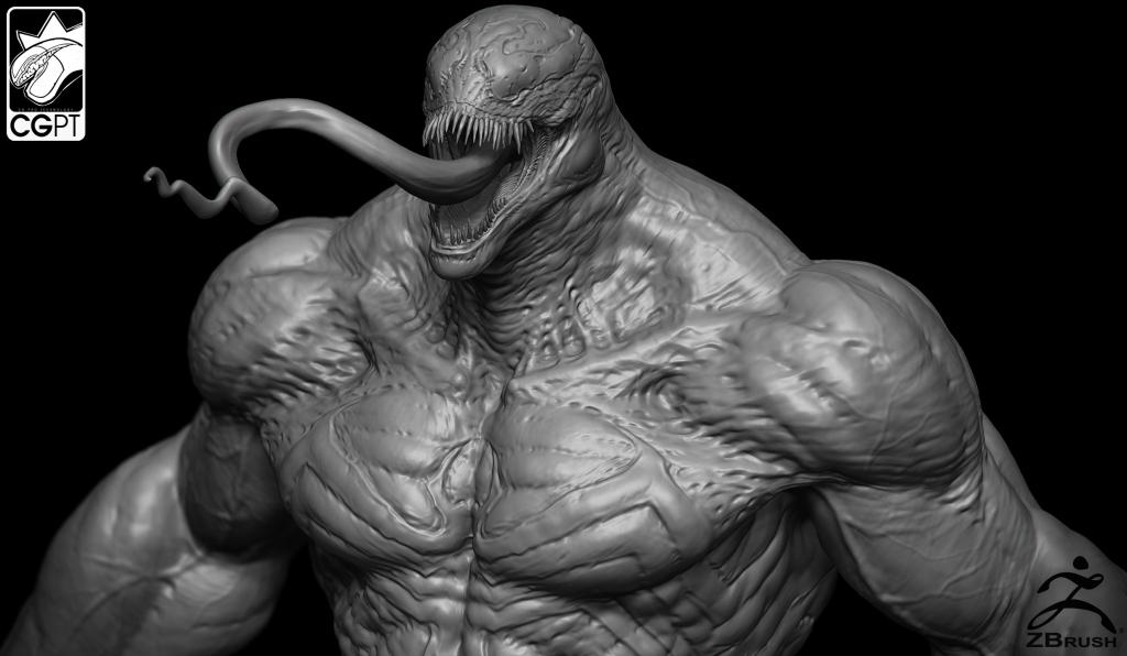 Venom presentation closeup